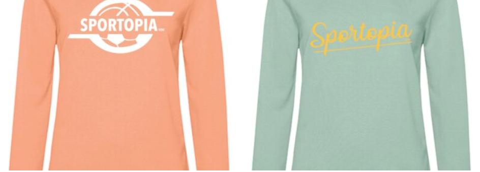 Nieuwe pullen en t-shirts